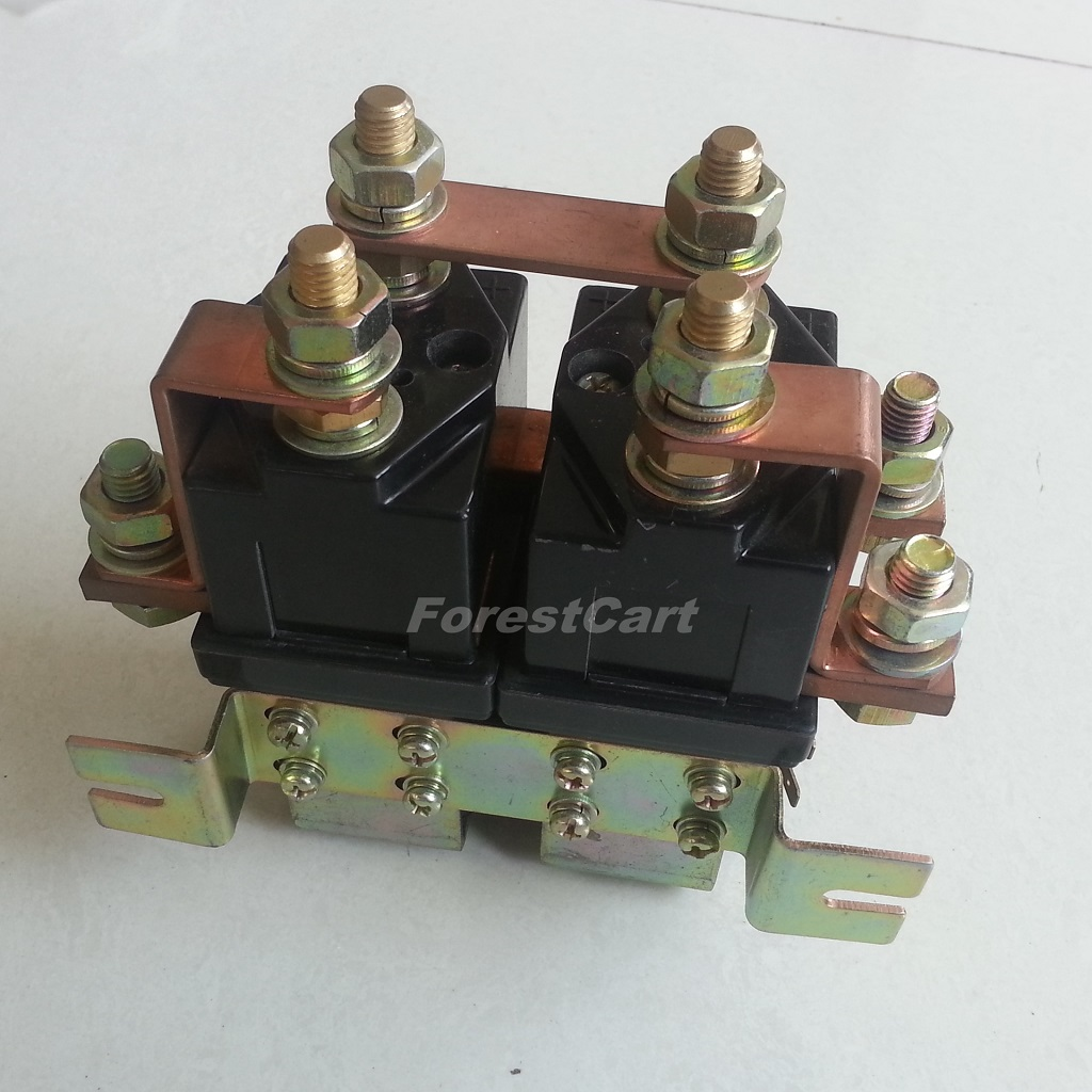 PD14 contactor 1 heavy duty solenoid 48v 400a reversing contactor,for bad boy,Bad Boy Buggy Battery Wiring